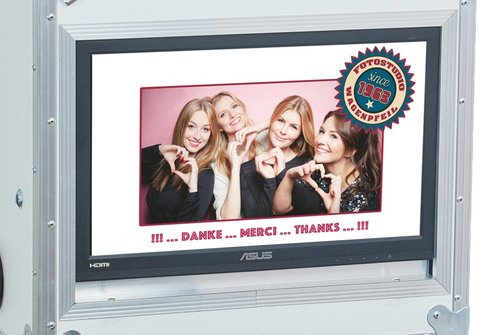 Fotobox Screen